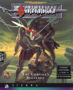 Birthright: The Gorgon's Alliance cover