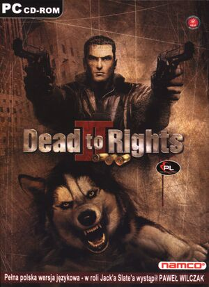Dead to Rights II cover