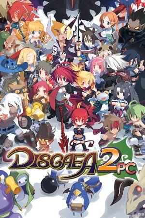 Disgaea 2 PC cover