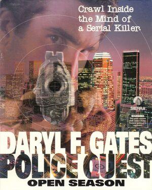 Police Quest: Open Season cover