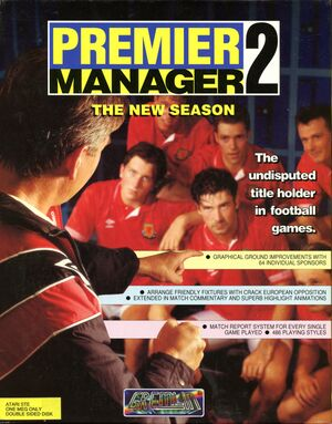 Premier Manager 2 cover