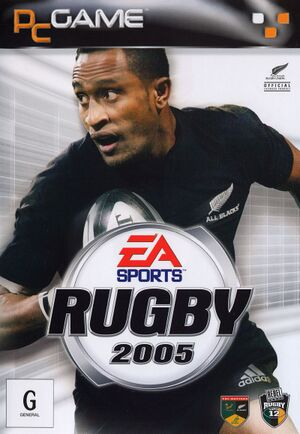 Rugby 2005 cover