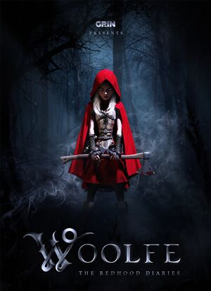 Woolfe: The Red Hood Diaries cover