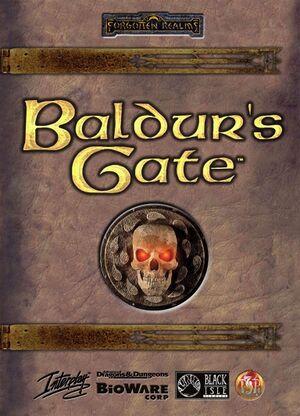 Baldur's Gate cover