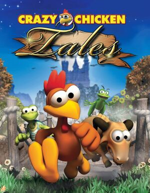 Crazy Chicken Tales cover