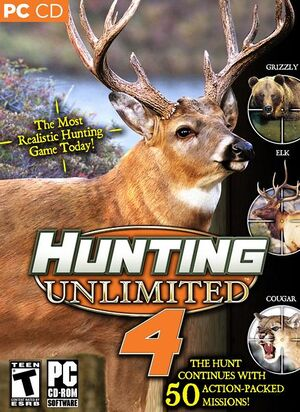 Hunting Unlimited 4 cover