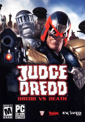 Judge Dredd: Dredd vs. Death cover