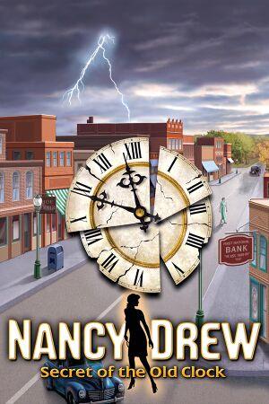Nancy Drew: Secret of the Old Clock cover