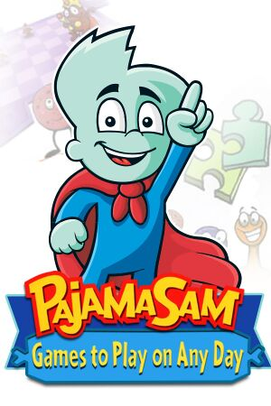 Pajama Sam: Games to Play on Any Day cover