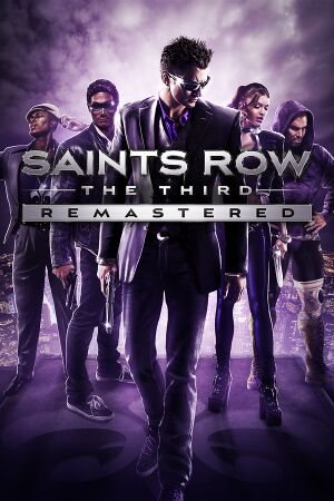 Saints Row: The Third Remastered cover