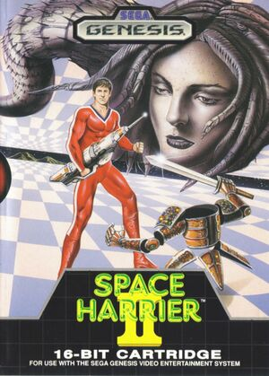 Space Harrier II cover