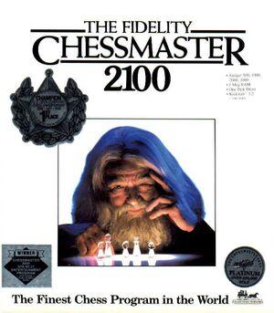 The Fidelity Chessmaster 2100 cover