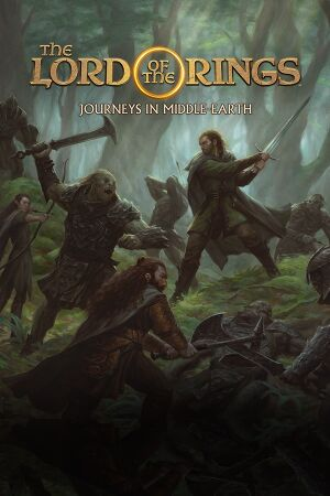 The Lord of the Rings: Journeys in Middle-earth cover