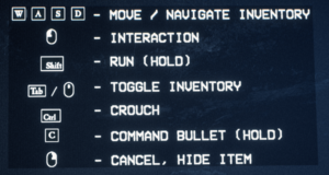 Keyboard and Mouse controls