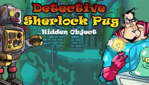 Detective Sherlock Pug cover