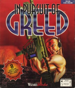 In Pursuit of Greed cover