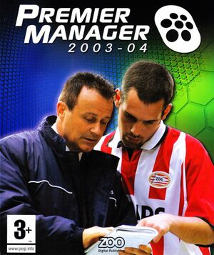 Premier Manager 2003-04 cover