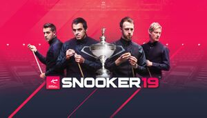 Snooker 19 cover