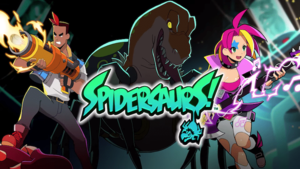 Spidersaurs cover