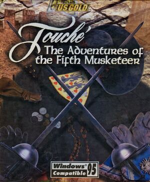 Touché: The Adventures of the Fifth Musketeer cover