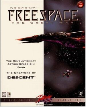 Descent: FreeSpace - The Great War cover
