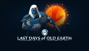 Last Days of Old Earth cover