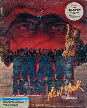 Manhunter: New York cover