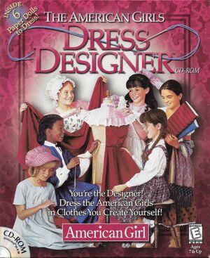 The American Girls: Dress Designer cover