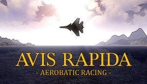 Avis Rapida - Aerobatic Racing cover