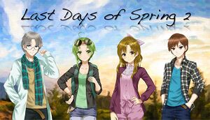 Last Days of Spring 2 cover