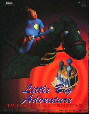 Little Big Adventure cover
