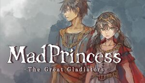 Mad Princess: The Great Gladiators cover