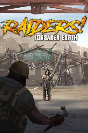 Raiders! Forsaken Earth cover