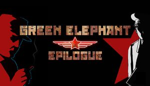 Green Elephant: Epilogue cover