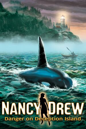 Nancy Drew: Danger on Deception Island cover