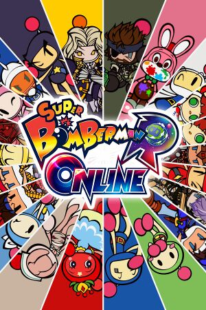Super Bomberman R Online cover