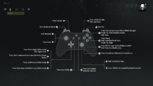 Default Xbox controller on foot control scheme.