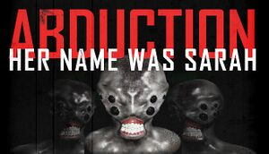 Abduction Episode 1: Her Name was Sarah cover