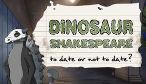 Dinosaur Shakespeare: To Date or Not To Date? cover