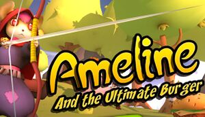 Ameline and the Ultimate Burger cover
