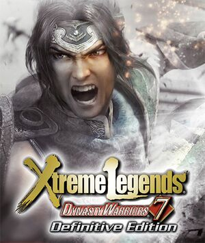 Dynasty Warriors 7: Xtreme Legends Definitive Edition cover