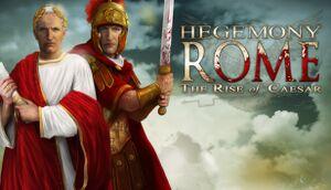 Hegemony Rome: The Rise of Caesar cover