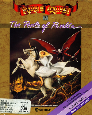 King's Quest IV: The Perils of Rosella cover