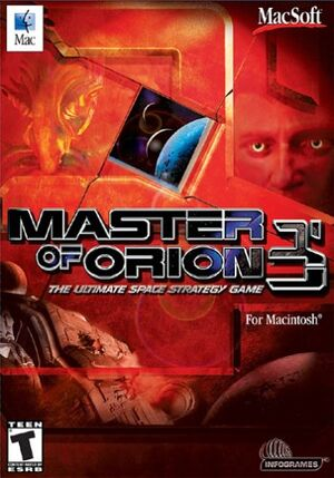 Master of Orion III cover