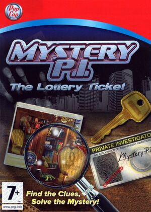 Mystery P.I. - The Lottery Ticket cover