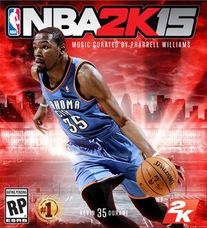 NBA 2K15 cover