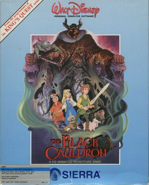 The Black Cauldron cover