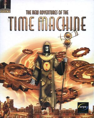 The New Adventures of the Time Machine cover
