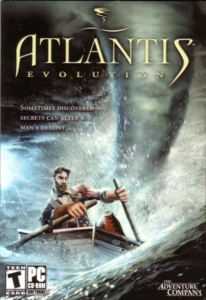 Atlantis Evolution cover