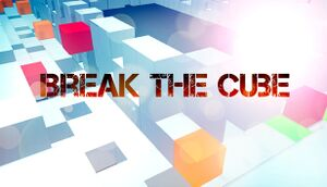 Break the Cube cover